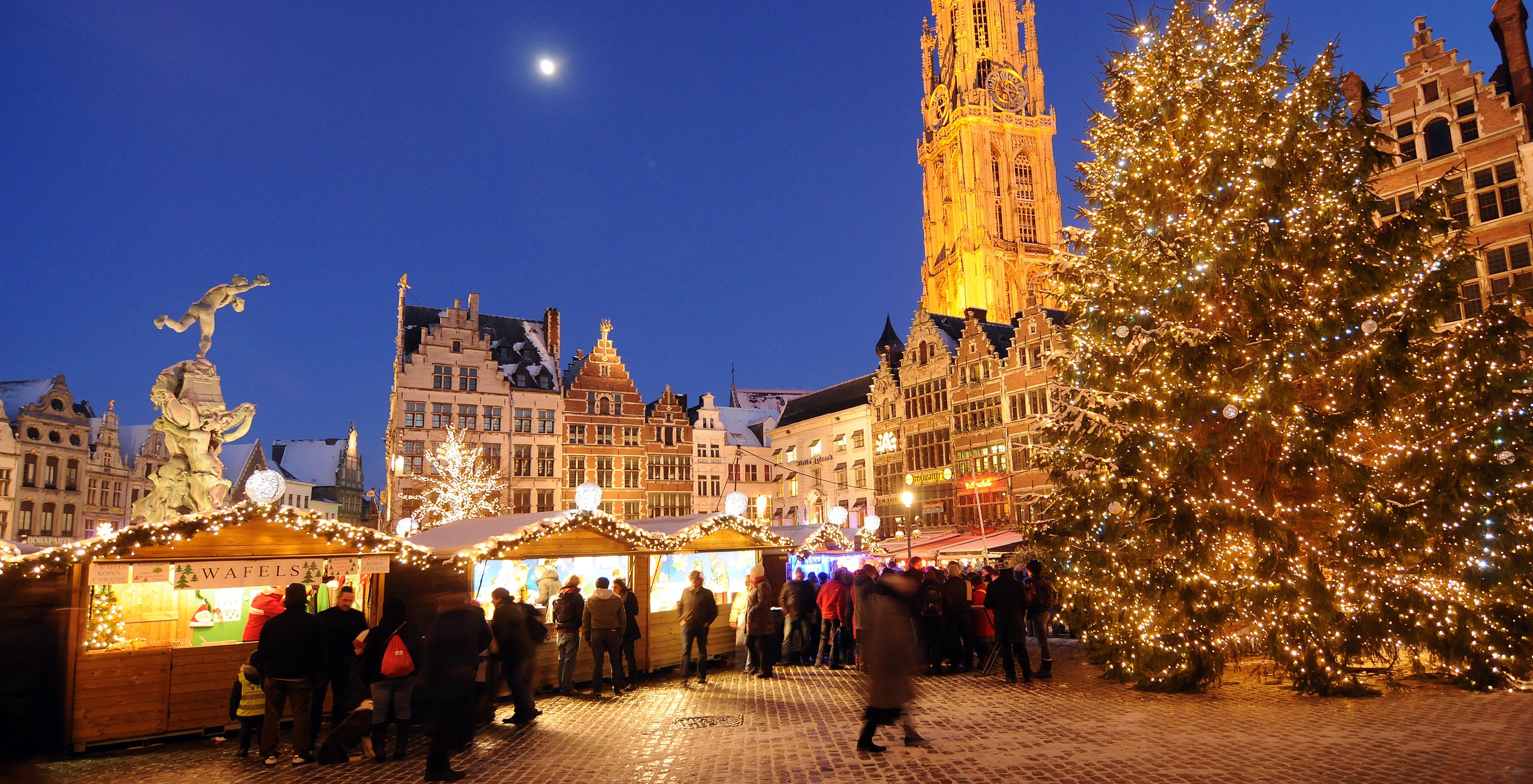 Naar Een Kerstmarkt In Belgie Met Hotelspecials